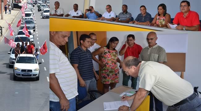 Imagem de Bahia: Rodoviários entregam pauta de reivindicação da Campanha Salarial aos patrões