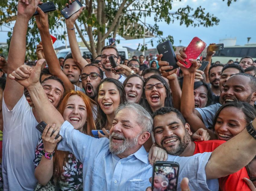 Imagem de Lula vai percorrer a Região Sul do Brasil