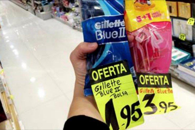 Imagem de 'Taxa rosa' eleva o preço dos produtos femininos em 12%