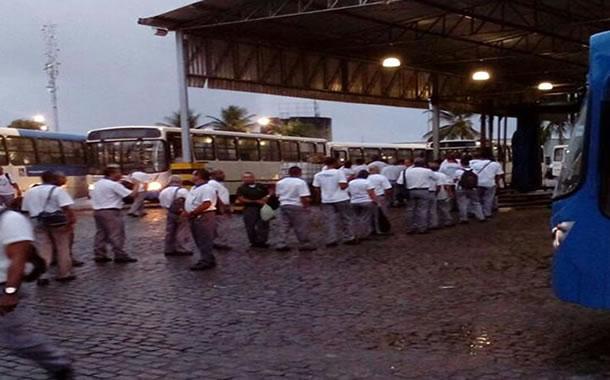 Imagem de Bahia: Rodoviários na CSN saem com atraso das garagens