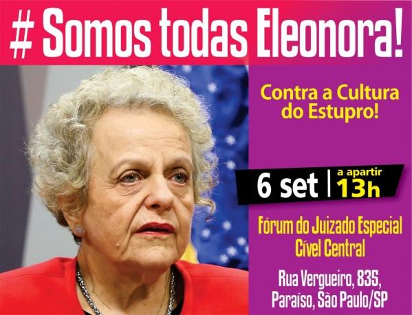 Imagem de SP: Mulheres vão às ruas dia em defesa da ex-ministra Eleonora Menicucci