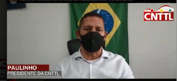 Imagem de Vacina Já: Lockdown de 24 horas dos trabalhadores em transportes está mantido, destaca presidente da CNTTL