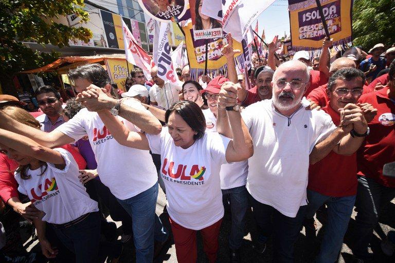 Imagem de Fátima Bezerra é eleita governadora do Rio Grande do Norte