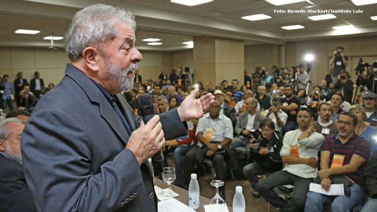 """Imagem de Lula: """"Não podemos deixar aqueles que perderam se comportarem como se tivessem ganhado"""""""