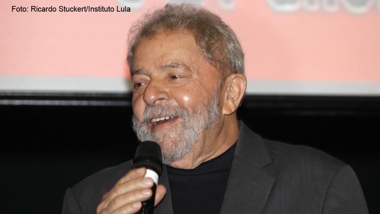 """Imagem de Lula: """"Quem apostar no fracasso do Brasil vai quebrar a cara"""""""