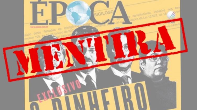 Imagem de Instituto Lula desmente novamente Revista Época