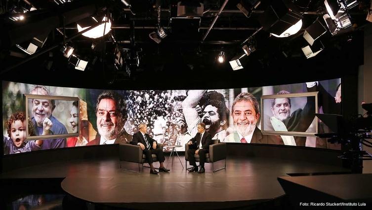 """Imagem de Lula: """"Se for para defender nosso projeto, posso ser candidato outra vez"""""""
