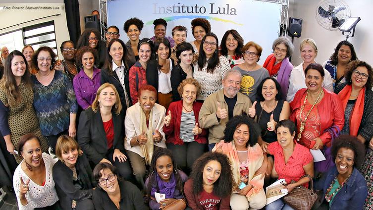 Imagem de Mulheres contam com o apoio de Lula em suas lutas