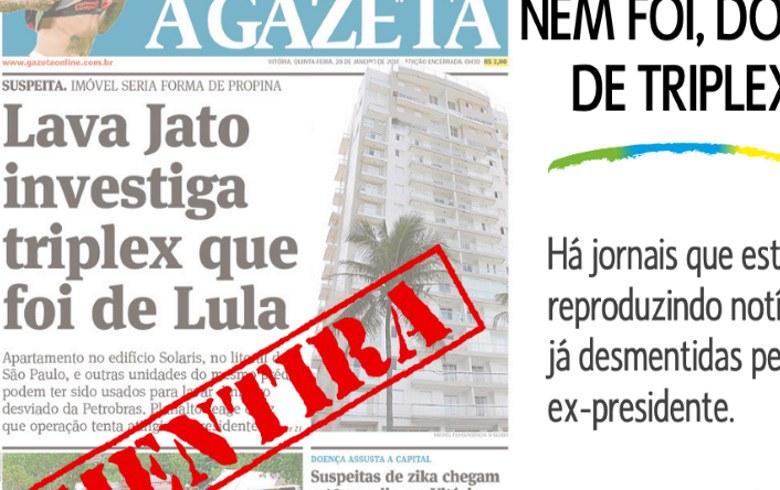 Imagem de Instituto Lula desmonta a farsa do triplex no Guarujá