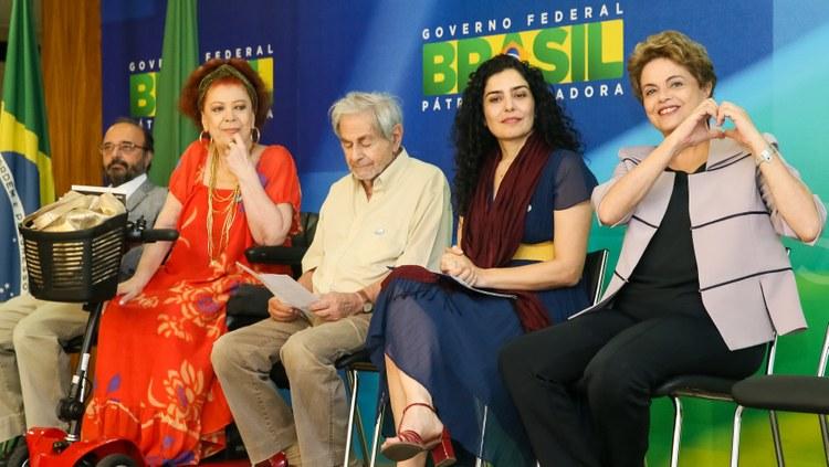 Imagem de Brasília: Dilma recebe apoio de artistas e intelectuais