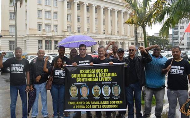 Imagem de Bahia: Rodoviários cobram celeridade no processo que investiga as mortes de Paulo Colombiano e Catarina Galindo