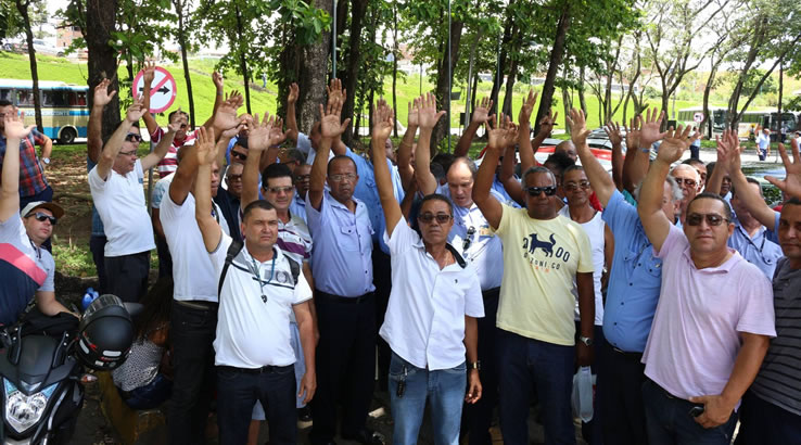 Imagem de Bahia: CNTTL repudia demissão em massa de rodoviários e dirigentes na São Luiz e Falcão Real