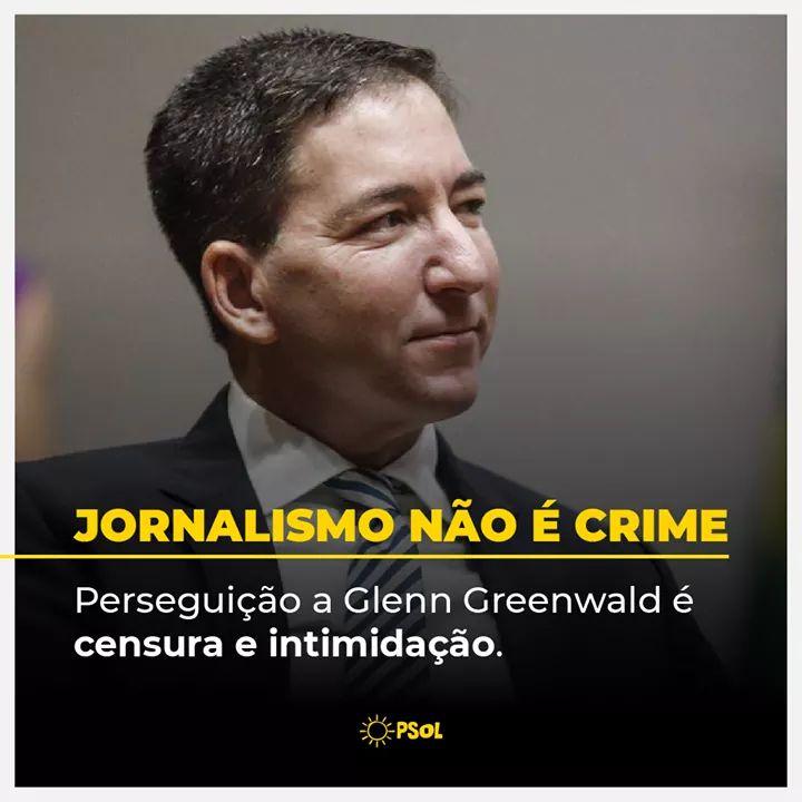 Imagem de Denúncia do MPF contra Glenn Greenwald é mais um ataque à liberdade de imprensa, destaca FENAJ