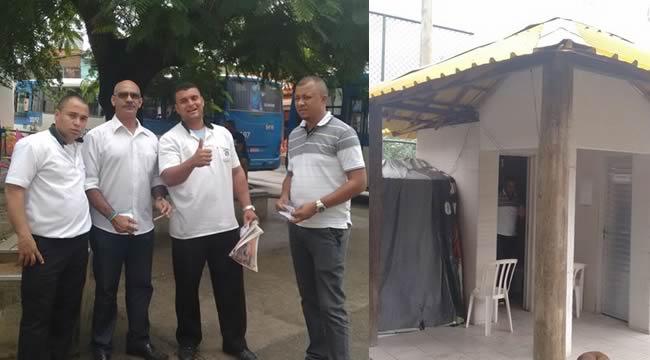 Imagem de Bahia: Dirigentes do Sindicato dos Rodoviários vistoriam condições de trabalho da categoria