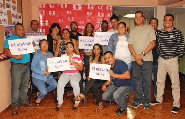 Imagem de #LulaValeaLuta: Cresce o apoio internacional de entidades sindicais a Lula