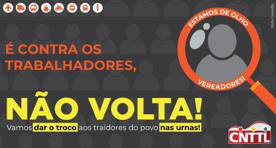 Imagem de CNTTL convoca Sindicatos e Federações para mandar ofícios aos vereadores dos municípios para saber quem está ao lado da classe trabalhadora