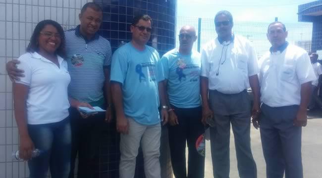 Imagem de Bahia: Sindicato dos Rodoviários faz alerta sobre o Novembro Azul nas garagens