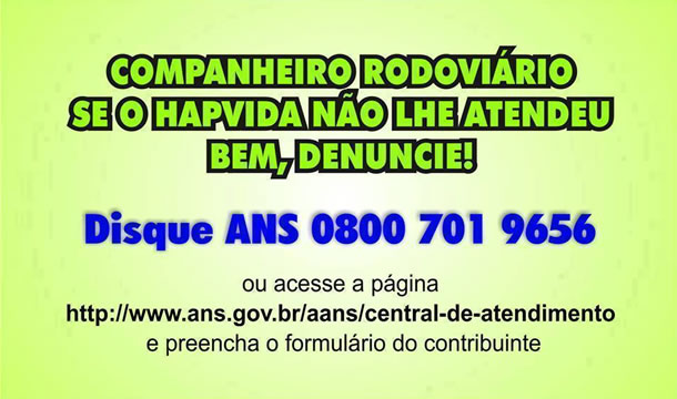 Imagem de Bahia: Mau atendimento faz rodoviários denunciarem Plano de Saúde Hapvida ao Ministério Público