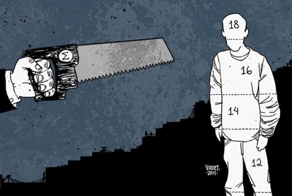 Imagem de Para CUT, redução da maioridade penal não vai diminuir a violência