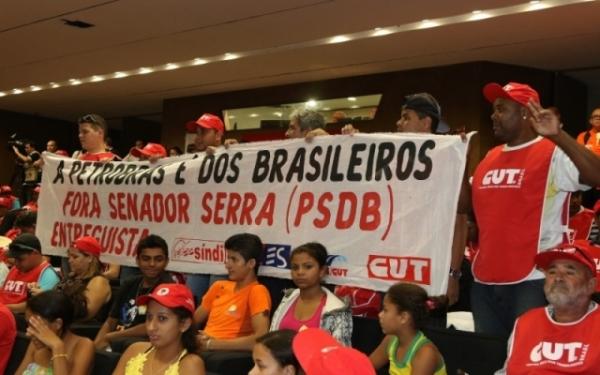 Imagem de Brasília: CUT , FUP e movimentos sociais participam de audiência em defesa da Petrobras na quarta (2)