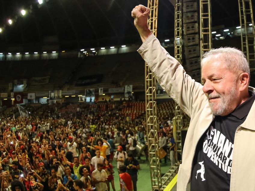 """Imagem de Lula: """"Para ser presidente tem de ir pra rua disputar voto e ganhar as eleições"""