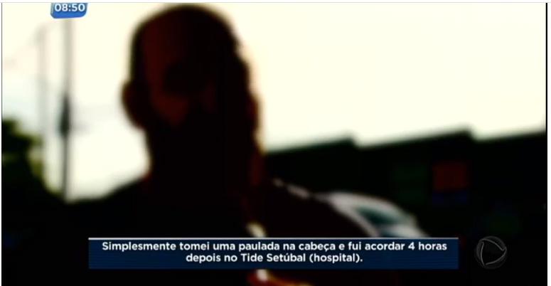 Imagem de SP: Denúncia do Sindviários sobre agressões de agentes de trânsito é destaque na  Record