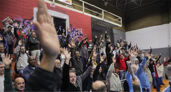 Imagem de SP: Metroviários aprovam Plano de Lutas contra retirada de direitos
