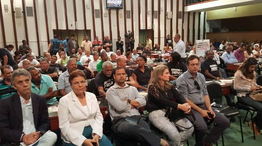 Imagem de Bahia: Rodoviários participam de sessão especial na Assembleia Legislativa