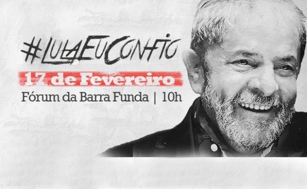 Imagem de SP: Frente Brasil Popular lança nota em defesa de Lula