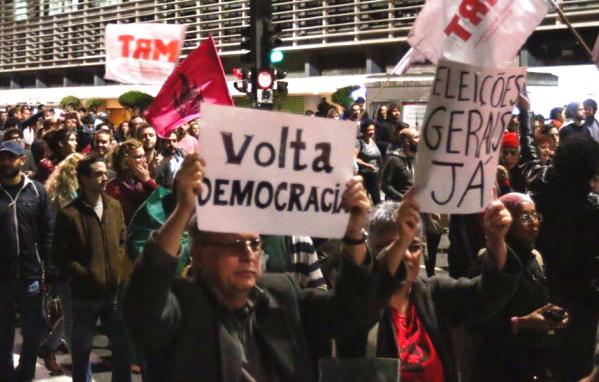 Imagem de #DiretasJá: CUT e movimentos sociais farão manifestações no domingo (21)