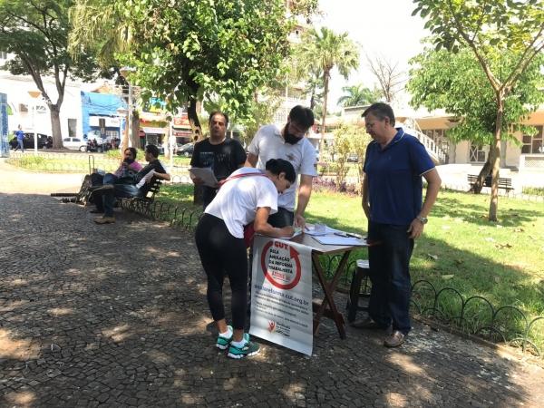 Imagem de SP: Campanha para anular a Reforma Trabalhista percorre o estado