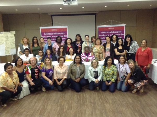 Imagem de Mulheres da CUT se reúnem para garantir e defender a democracia