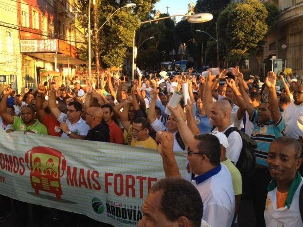 Imagem de Bahia: Rodoviários realizam assembleia para debater pagamento da gratificação de Carnaval
