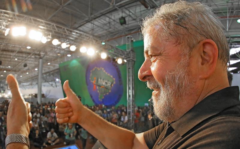 Imagem de Lula participa da plenária Nacional da CUT nesta terça-feira (31)