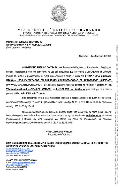 Imagem de Guarulhos: Aeroportuários e GRU Airport participam de audiência no Ministério Público do Trabalho