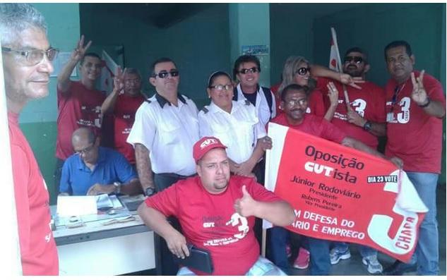 Imagem de Bahia: CNTTL apoia a Chapa 2 CUT-CTB dos Rodoviários de Vitória da Conquista