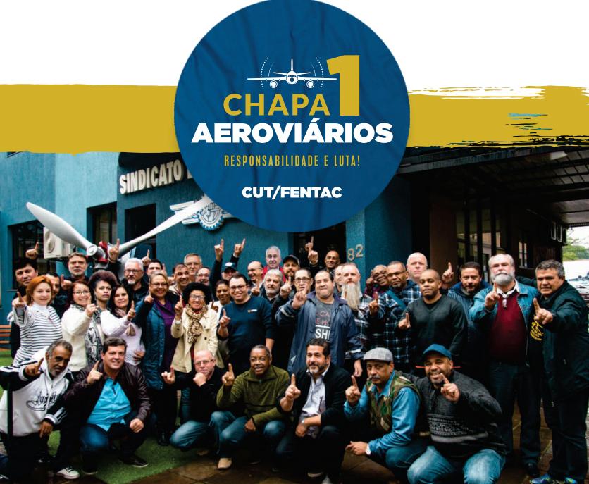 Imagem de CNTTL parabeniza vitória da Chapa 1 dos Aeroviários de Porto Alegre