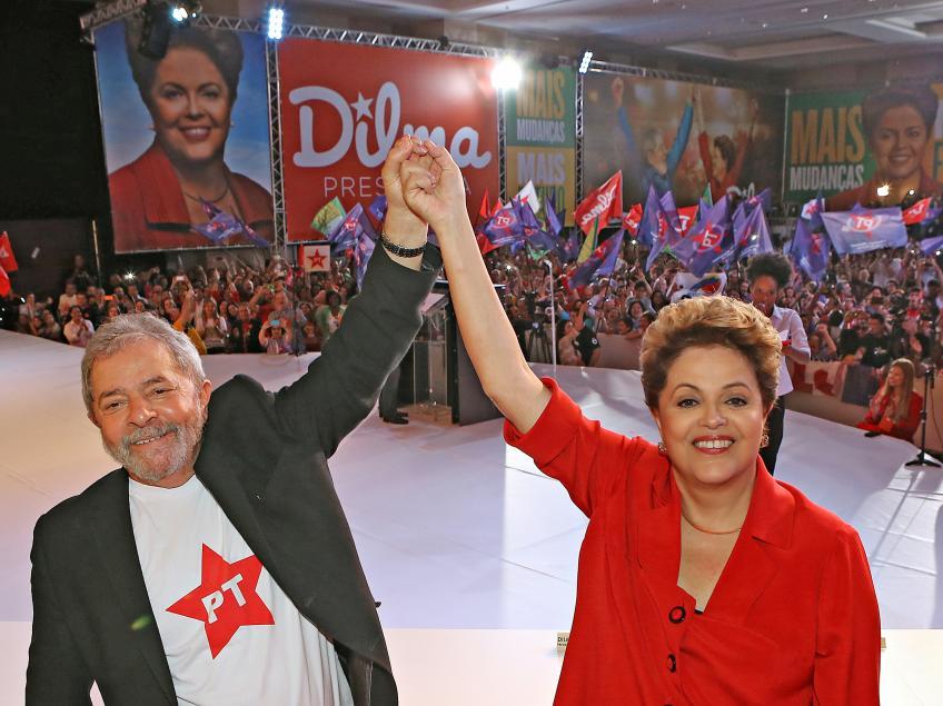 Imagem de Lula e Dilma triplicaram investimento social