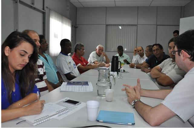 Imagem de ES: Portuários e comunidade participam de reunião com a Codesa