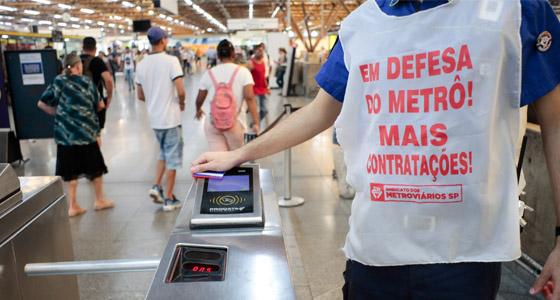 Imagem de Covid-19: metroviários de São Paulo pedem reunião com Metrô e propõem medidas