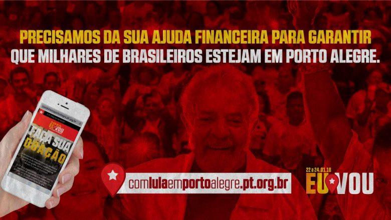 Imagem de Com Lula em Porto Alegre: Contribua com a jornada pela Democracia