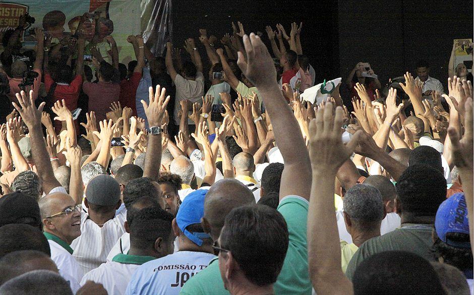 Imagem de Bahia: Sem avanço na Campanha Salarial, rodoviários cruzam os braços
