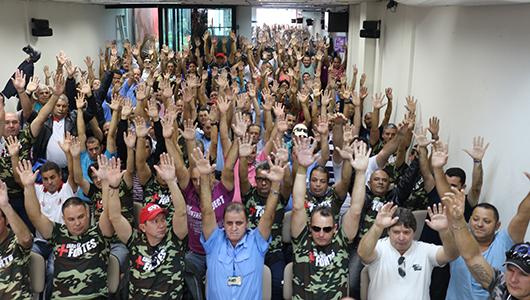 Imagem de Rodoviários de Sorocaba e Votorantim aprovam estado de greve