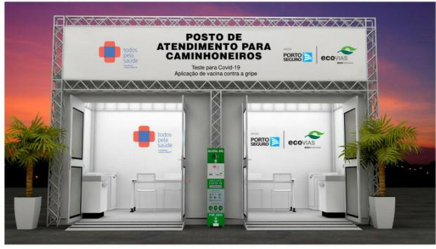 Imagem de CNTTL e FECOOTAC apoiam Campanha de testes de COVID-19 e contra gripe para caminhoneiros em São Paulo