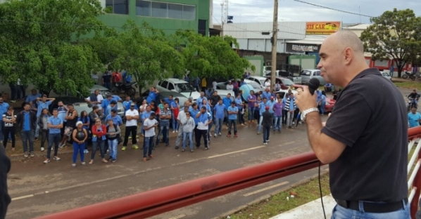 Imagem de Brasília: Rodoviários na Cootarde mantêm paralisação e pressionam governo para resolver situação
