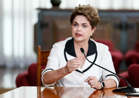 Imagem de Dilma sobre a Lava Jato: