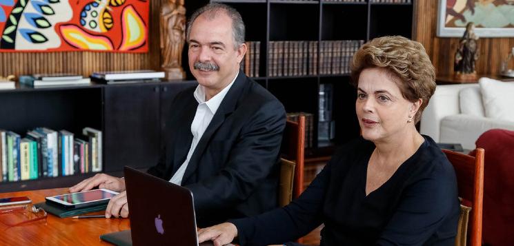 """Imagem de Dilma: """"Governo interino está promovendo retrocessos na educação"""""""