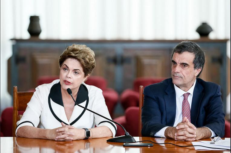 """Imagem de Dilma: """"O maior contrato que existe neste país é entre o governo e seu povo. E esse contrato foi rasgado"""""""