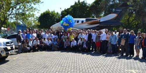 Imagem de Rio de Janeiro: Aeroportuários no Santos Dumont e Jacarepaguá dão boas-vindas aos transferidos do Galeão