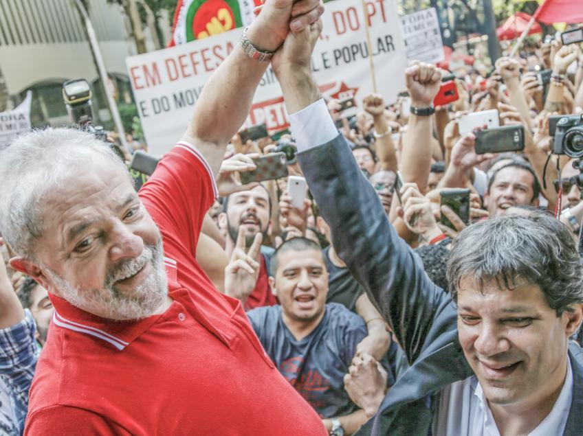 """Imagem de Lula: """"Estou orgulhoso em saber que a perseguição a mim é pelas coisas boas que fiz nesse país"""""""